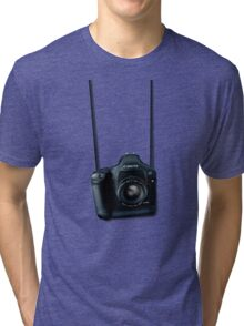Camera shirt - for Canon users Tri-blend T-Shirt