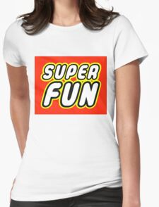 SUPER FUN Womens Fitted T-Shirt