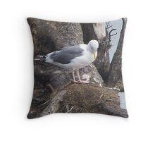 take a bow  westport washington Throw Pillow