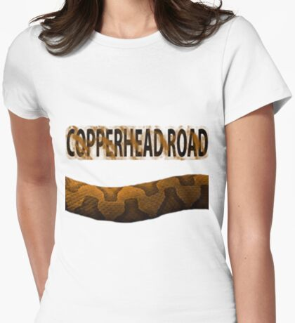 copperhead road Womens Fitted T-Shirt