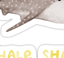 Whale Sharks Rule! Sticker