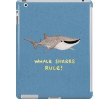 Whale Sharks Rule! iPad Case/Skin