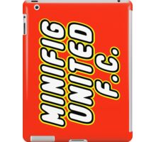 MINIFIG UNITED FC, Customize My Minifig iPad Case/Skin