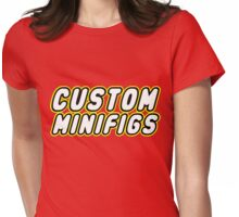 CUSTOM MINIFIGS Womens Fitted T-Shirt