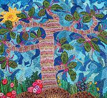 tree of life battles the sky... (©k.denmark) by Kay Denmark