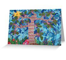 tree of life battles the sky... (©k.denmark) Greeting Card
