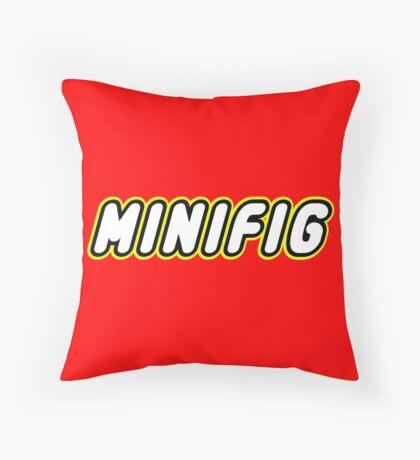 MINIFIG, Customize My Minifig Throw Pillow