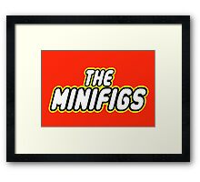 THE MINIFIGS Framed Print