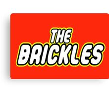 THE BRICKLES Canvas Print