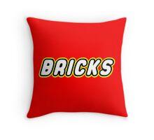 BRICKS, Customize My Minifig Throw Pillow