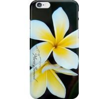 Plumeria - Cool Stuff iPhone Case/Skin