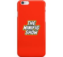 THE MINIFIG SHOW iPhone Case/Skin