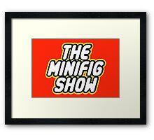 THE MINIFIG SHOW Framed Print