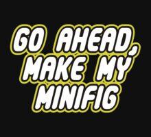 GO AHEAD, MAKE MY MINIFIG One Piece - Short Sleeve