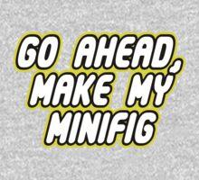 GO AHEAD, MAKE MY MINIFIG One Piece - Long Sleeve