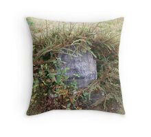 tombstone circa 1895 Throw Pillow