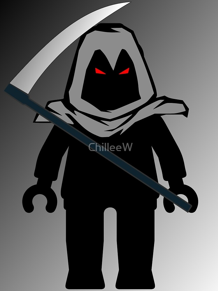 Grim Reaper Minifig, 'Customize My Minifig' by Customize My Minifig