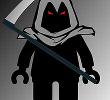 Grim Reaper Minifig, 'Customize My Minifig' by ChilleeW