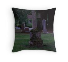 aged cross Throw Pillow