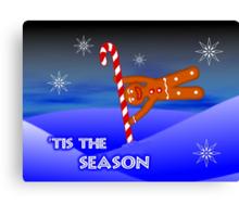 'Tis the Season for pole acrobatics Canvas Print