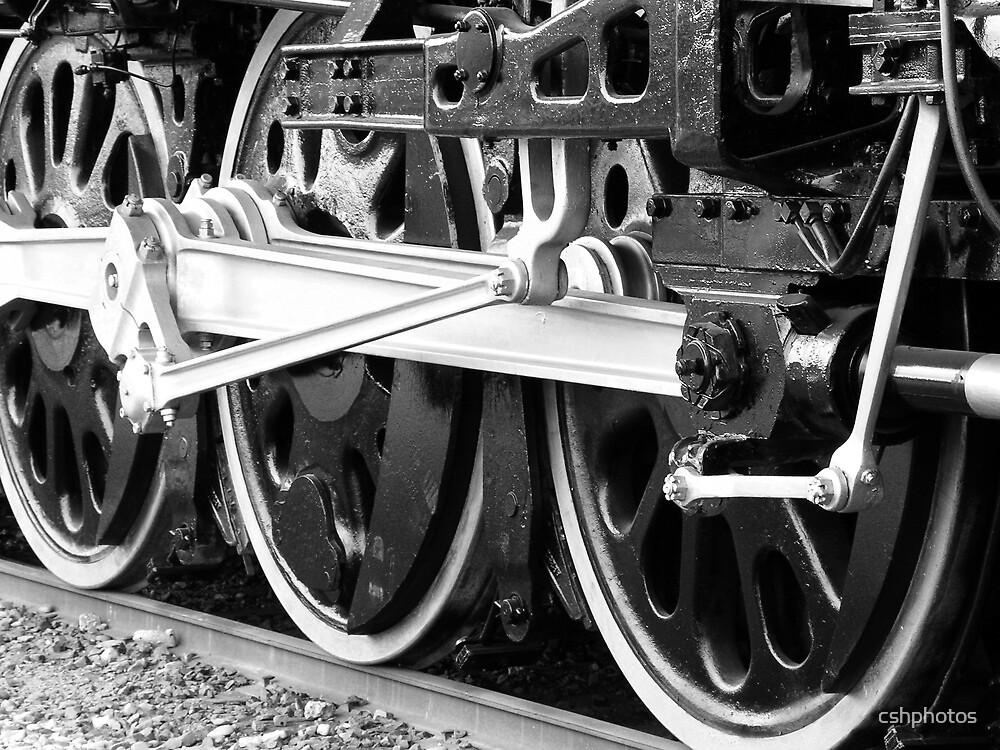 Train Wheels by cshphotos