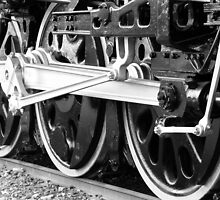 Train Wheels by cshphotos