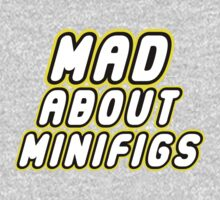 MAD ABOUT MINIFIGS, Customize My Minifig One Piece - Long Sleeve