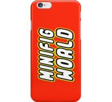 MINIFIG WORLD, Customize My Minifig iPhone Case/Skin