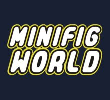 MINIFIG WORLD, Customize My Minifig Kids Tee
