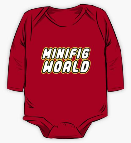 MINIFIG WORLD, Customize My Minifig One Piece - Long Sleeve