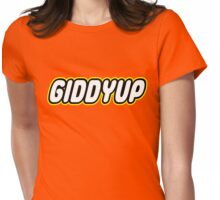 GIDDYUP Womens Fitted T-Shirt