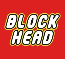 BLOCK HEAD Kids Tee
