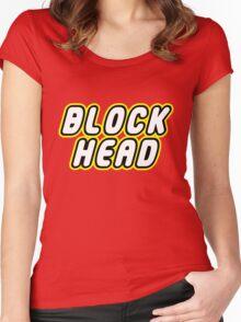BLOCK HEAD Women's Fitted Scoop T-Shirt