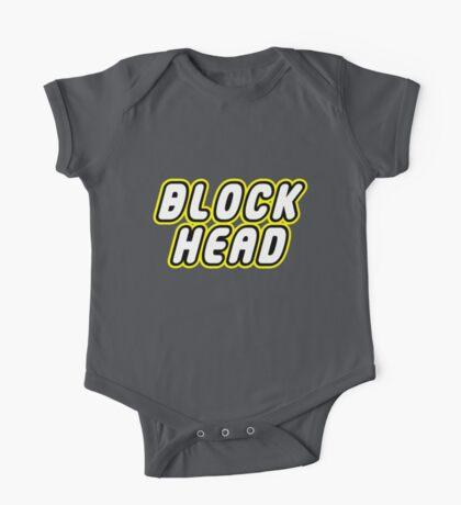 BLOCK HEAD One Piece - Short Sleeve