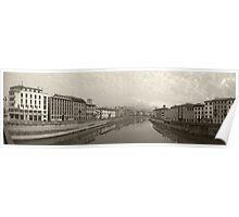 Arno River Poster