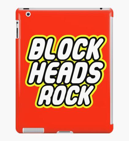 BLOCK HEADS ROCK iPad Case/Skin