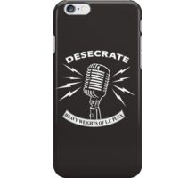Desecrate - Heavy Wieghts Of L.C PUNX 2 iPhone Case/Skin