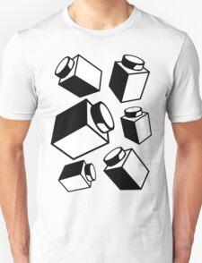 1 x 1 Bricks (AKA Falling Bricks), Customize My Minifig Unisex T-Shirt