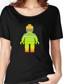 Striped Minifig Women's Relaxed Fit T-Shirt