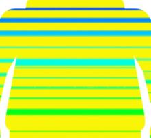Striped Minifig, Customize My Minifig Sticker