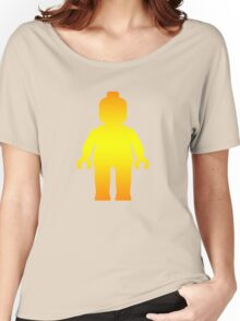 Minifig [Golden], Customize My Minifig Women's Relaxed Fit T-Shirt