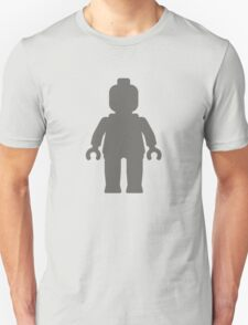 Minifig [Dark Grey], Customize My Minifig Unisex T-Shirt