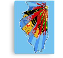Illinois Blackhawks Canvas Print