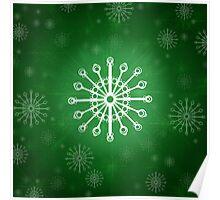 Green Winter Poster