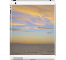 Sunset At Westward Ho! iPad Case/Skin