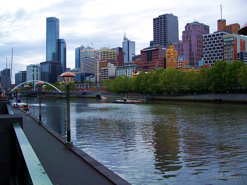The Yarra River  by Tom Newman