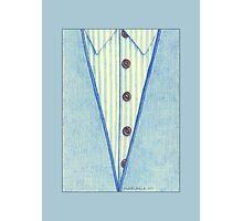 Blue Shirt Photographic Print