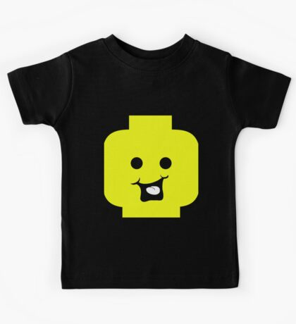 Cheeky Minifig Head Kids Tee