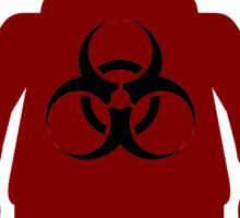 Minifig with Radioactive Symbol Sticker