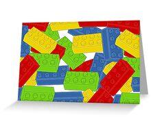 A Pile of Bricks Greeting Card